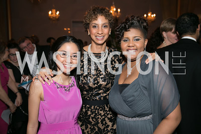 Jennifer Li, Pinkie Mayfield, Nikita Crowell. Photo by Alfredo Flores. DC-CAPital Stars Talent Competition. The John F. Kennedy Center for the Performing Arts. February 25, 2014