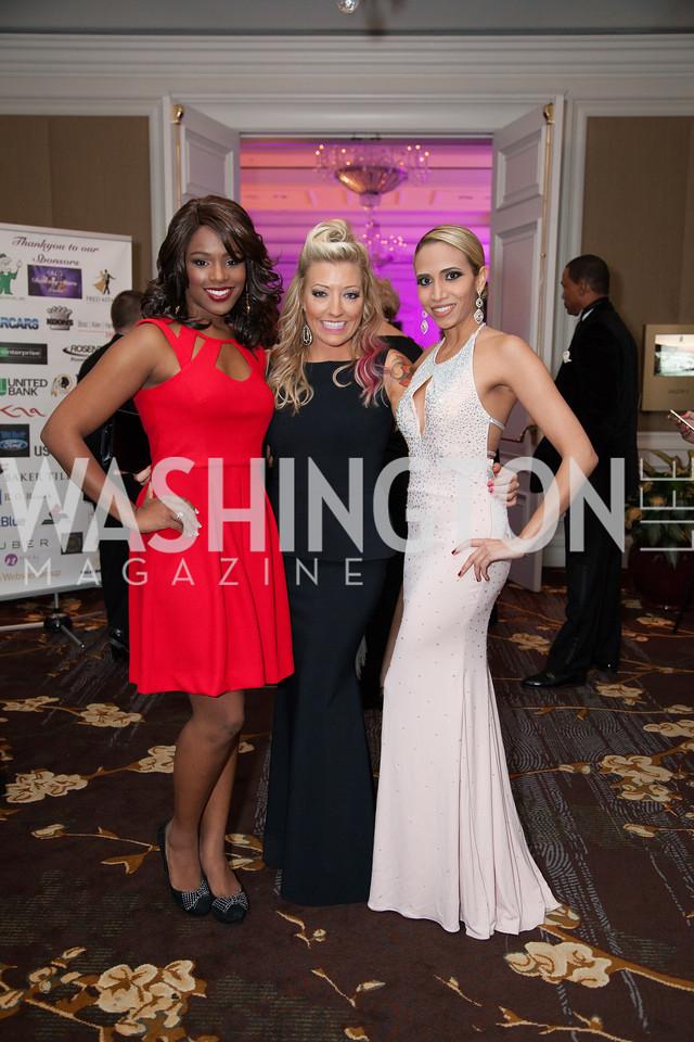 Sarah Hillware, Evelyn Smallwood, Antoinette Cordova