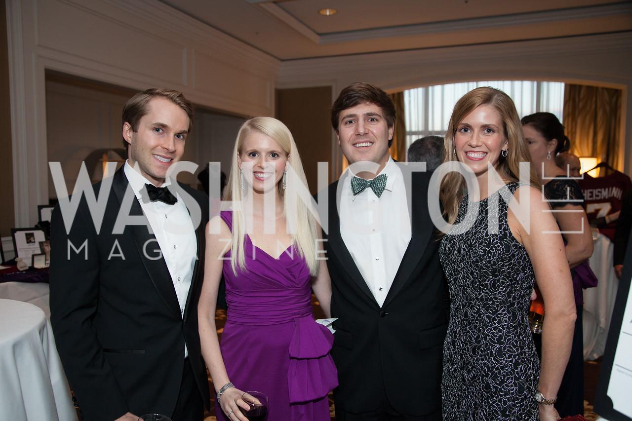 Jacob Hampton, Shannon David, Stephen Burch, Kristin Burch