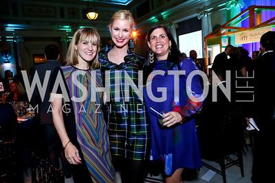 Tina Cruikshank, Kelley MacPhee, Heather Phibbs. Photo by Tony Powell. DC Habitat's 25th Anniversary. Union Station. November 20, 2014