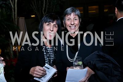 Diane Lazarus, Judy Peres. Photo by Tony Powell. DC Habitat's 25th Anniversary. Union Station. November 20, 2014