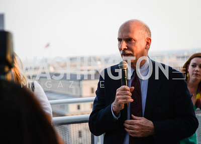 Phil Mendelson, DC Vote hosts the First Annual, Three Star Ball.  National Association of Realtors Building Rooftop, May 22, 2014.  Photo by  Ben Droz.