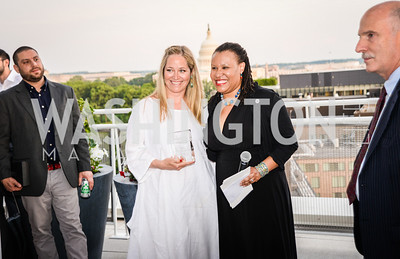 Brandon Skall, Nancy Bagley, Kimberly Perry, Phil Mendelson, DC Vote hosts the First Annual, Three Star Ball.  National Association of Realtors Building Rooftop, May 22, 2014.  Photo by  Ben Droz.