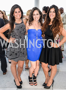 Maha Hakki, Sarah Aburdeineh, Dannia Hakki, DC Vote hosts the First Annual, Three Star Ball.  National Association of Realtors Building Rooftop, May 22, 2014.  Photo by  Ben Droz.