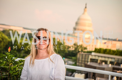 Nancy Bagley, DC Vote hosts the First Annual, Three Star Ball.  National Association of Realtors Building Rooftop, May 22, 2014.  Photo by  Ben Droz.