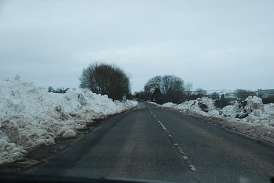 March/April 2013. Dalbeattie Road at Beeswing.