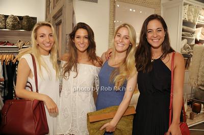 Alexandra Crai, Kay , Savannah Engel, Rachel Champlain