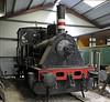 Lolland Rly (LJ) No 20, Maribo, Sat 30 August 2014.  0-4-0WT built by Henschel (17463 / 1920).