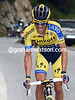Alberto Contador has attacked with two-kilomtres to go - but Froome is a soft target to overcome...