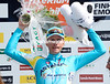 Lieuwe Westra celebrates winning stage seven after an almighty effort on the last climb...