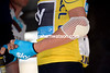 Chris Froome's elbow shows the damage from yesterday's crash - but what about the damage that can't be seen..?