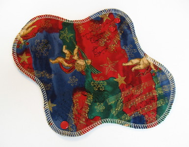 ONE Regular Flow Wrap Wing Pad - Winter Special - cotton woven print