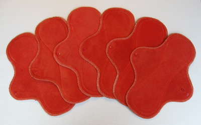 ONE Heavy Flow Wrap Wing Pad - organic cotton velour