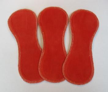 ONE Light Flow Comfort Contour Pad - organic cotton velour