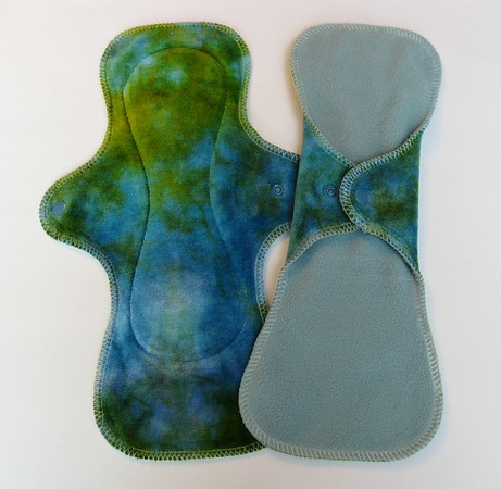 """TWO UltiMini Pads - """"turquoise gold"""""""
