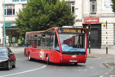 YJ62FFB - Plymouth (Derry's Cross) - 29.7.13