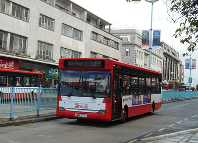 1 - N101UTT - Plymouth (Royal Parade) - 29.7.13