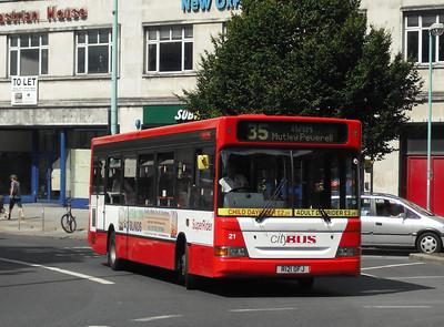 21 - R121OFJ - Plymouth (Derry's Cross) - 10.8.09