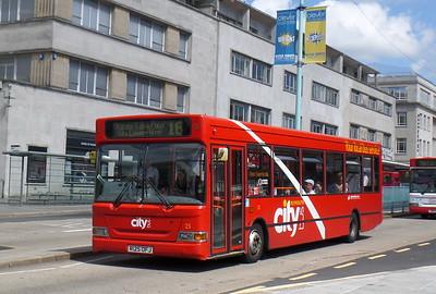 25 - R125OFJ - Plymouth (Royal Parade)