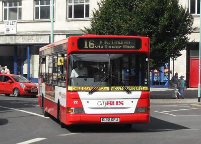 22 - R122OFJ - Plymouth (Derry's Cross) - 10.8.09