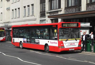 36 - T136EFJ - Plymouth (Royal Parade) - 10.8.09