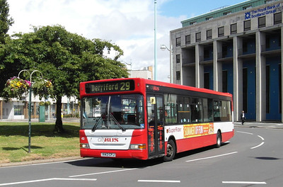 43 - X143CFJ - Plymouth (Mayflower St) - 29.7.13