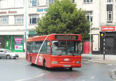 69 - WA03BHY - Plymouth (Derry's Cross) - 29.7.13