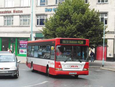 62 - WJ52GOA - Plymouth (Derry's Cross) - 29.7.13