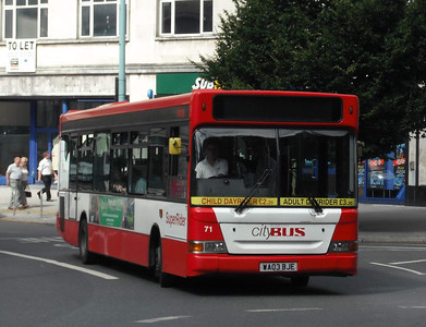 71 - WA03BJE - Plymouth (Derry's Cross) - 10.8.09