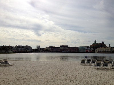 View from Yacht and Beach Club 2011
