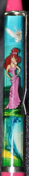 Back:  Hercules<br /> Front: big tree<br /> Floater: Megara<br /> Style: Classic<br /> Color: pink<br /> Cost: $9.00<br /> Category: Disney