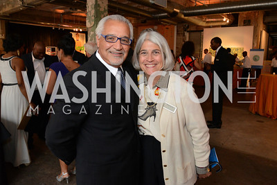 Honoree S. Joseph Bruno and Michela English (Fight For Children) E.L. Haynes Toast to Transformation Celebration. Long View Gallery. May 14, 2014. Photos by Neshan H. Naltchayan