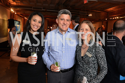 Donna Byrd, Victor Reinoso and Alexandra Alderman. E.L. Haynes Toast to Transformation Celebration. Long View Gallery. May 14, 2014. Photos by Neshan H. Naltchayan