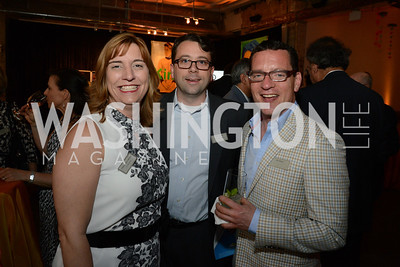 Vanessa Carlo-Miranda, Richard Pohlman and Joshua Marks. E.L. Haynes Toast to Transformation Celebration. Long View Gallery. May 14, 2014. Photos by Neshan H. Naltchayan