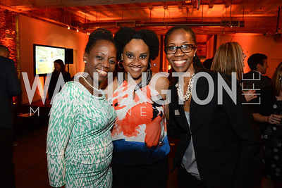 Paula Gordon, Charisse Carney-Nunes and Caroline Hill. E.L. Haynes Toast to Transformation Celebration. Long View Gallery. May 14, 2014. Photos by Neshan H. Naltchayan