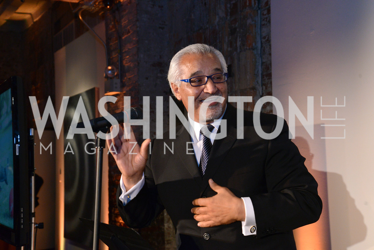 Honoree S. Joseph Bruno, President of Building Hope. E.L. Haynes Toast to Transformation Celebration. Long View Gallery. May 14, 2014. Photos by Neshan H. Naltchayan
