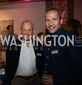 Bob Pincus (Eagle Bank ) and Winston Bao Lord. E.L. Haynes Toast to Transformation Celebration. Long View Gallery. May 14, 2014. Photos by Neshan H. Naltchayan
