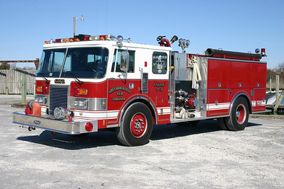 Engine 2-3 is this well maintained 1989 Pierce Lance, 1250/1000, sn- E4636.  The Departments only engine.