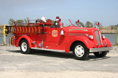 Officer side of the Seagrave.
