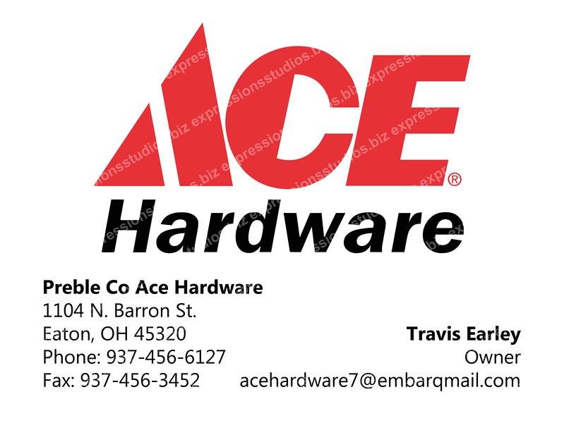 Ace Hardware copy
