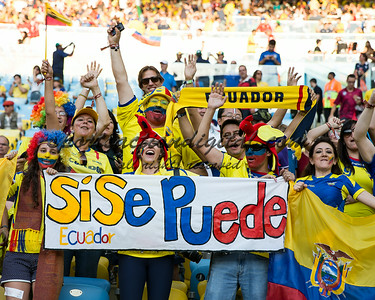 Ecuador fans