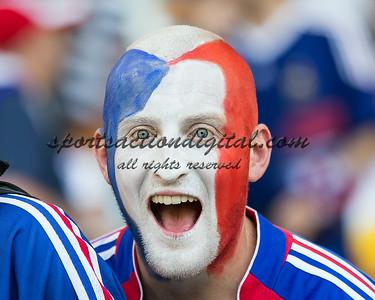 French fan