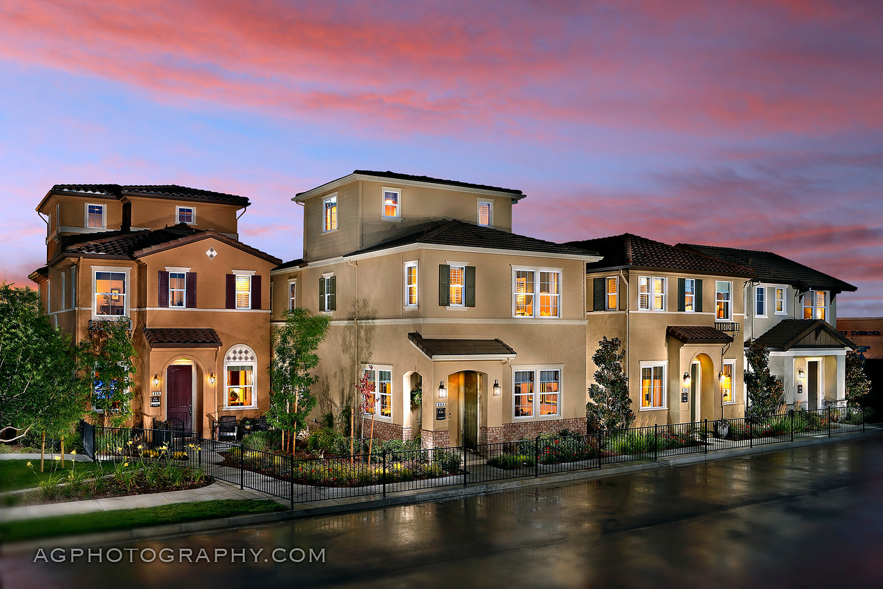 El Sol Models by William Lyon Homes, Brentwood, CA, 6/24//14.