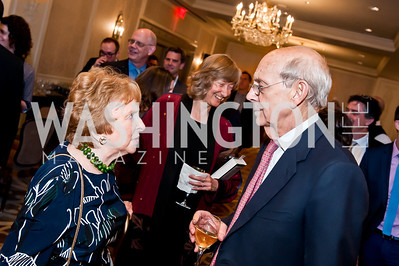 Elizabeth Drew, Justice Steven Breyer. Photo by Tony Powell. Elizabeth Drew Book Signing. Madison Hotel. May 15, 2014