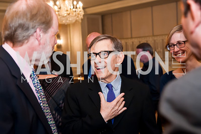 Francis O'Brian. Photo by Tony Powell. Elizabeth Drew Book Signing. Madison Hotel. May 15, 2014