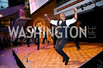 Step Afrika. Photo by Tony Powell. EGPAF 25th Anniversary Celebration. Newseum. June 24, 2014