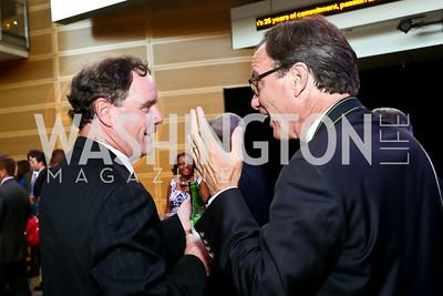 Brendan Daly and Sean Daly. Photo by Tony Powell. EGPAF 25th Anniversary Celebration. Newseum. June 24, 2014