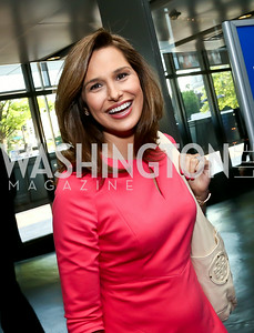Emcee Alison Starling. Photo by Tony Powell. EGPAF 25th Anniversary Celebration. Newseum. June 24, 2014