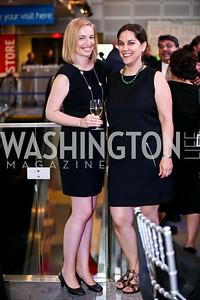 Claire O'Connor, Shauna Eisenberg. Photo by Tony Powell. EGPAF 25th Anniversary Celebration. Newseum. June 24, 2014