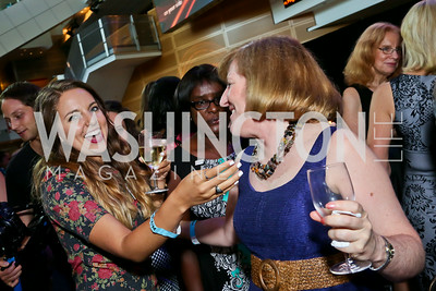 Sydney Van Horn, Laura Guay. Photo by Tony Powell. EGPAF 25th Anniversary Celebration. Newseum. June 24, 2014